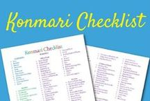 Konmari / Konmari checklists, words of wisdom and people's progress posts. I love the Konmari method of decluttering (or should I say tidying?) and it's done so much for my life already!