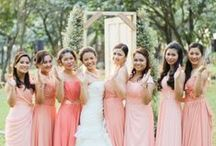celebrate  I  wedding  I  coral / Wedding in Coral and White... / by Kristine Marie
