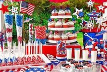 all-american summer / My All-American summer party ideas and activities...    #sweepsentry  / by Kristine Marie