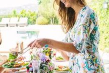 celebrate  I  summer soiree / Celebrating summer in style at my garden party...    / by Kristine Marie