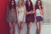 my girl crew! / My best friends mean the world to me! I wanna do these things with you!