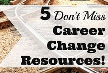 Job Search, Resume, and Interview Tips / Tips for job searching, resume rules, and interview hacks to help you land the job of your dreams. Changing careers? Yeah, that's covered too!