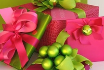 holidays and gift giving/wrapping / by Denise Lapon Collins