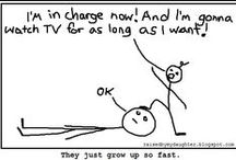 My comics / From my blog, raisedbymydaughter.blogspot.com