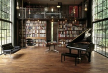 Bookish Places and Spaces / by Christine