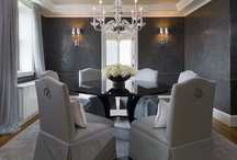 dinning area inspiration / by Ashley Berger