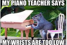 Piano Teaching Stuff! / by Christine