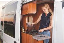 The BEST Camper van and caravan ideas / campervan and caravan practical ideas, storage, small space living