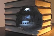 Book Art/sculpture/carving