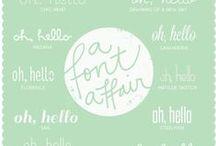 Fonts / by Carla Subirats