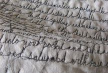 Stitching & Sewing / by Molly Adams