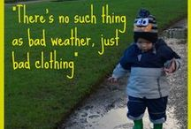 Kids outdoor clothes & travel wardrobe / My ultimate objective is to create a really flexible, quick drying travel and outdoor wardrobe for each of my children.  A wardrobe that consists of as few a pieces as practical and allows us to enjoy the great outdoors for longer whatever the weather.