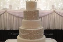 Impressive Wedding Cakes / I wonder if these are as yummy as they are pretty! Cake ideas I'd love to share with clients for my New Orleans Wedding designs www.allaboutevents.net