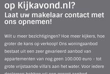 KIJKAVOND.nl / Omdat kopers liever zelf bepalen welke woning(en) Open Huis hebben...