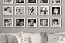 Gallery Walls || Print Creations / Creative ways to display beautiful photography in print form!