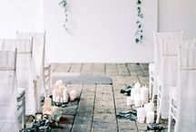 wedding | aisle style / inspiration for the 'i do's'