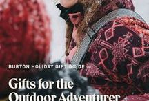 Holiday Gift Ideas: Outdoor Adventurers / Some people can't stay indoors when winter comes around. Gear them up for cold weather adventures with Burton jackets, bags and apparel. Shop our Holiday Gift Guide for the Outdoor Adventurer: http://bit.ly/2jCCPvB