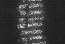wise words / by carlee