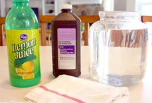 Recipes for natural cleaning and for you / by Cleaning On Wheels Jan Maskew