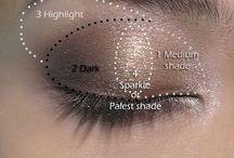 Makeup. / by Hope Weatherspoon