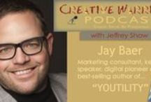 Creative Warriors Inspires / Creative Warriors is a podcast for purpose-driven entrepreneurs and small business owners. Those brave souls taking the road less traveled, forging their way through the world of business doing what they feel they are meant to do. I interview top level entrepreneurs, best-selling authors and creatives who will inspire you, motivate you and offer action steps you can apply directly in your life and business.