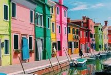 Colorful Places / Some of the most colorful cities, towns and places in the world.