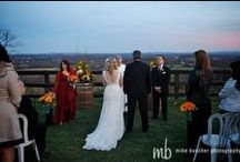 Outdoor Wedding / The mountains and valleys that make up the Shenandoah Valley region are the perfect backdrop for your gorgeous day! Paired with unique ideas to bring your vision together