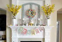 Spring Inspiration / Spring Inspiration, Spring Style, Spring, Flower Arrangements, Spring Tablescapes, Spring Home Tour