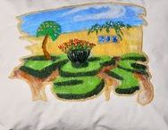 Broughton Castle Members Work / Broughton Castle Exhibition – 1st may – 3rd July – Banbury & District Embroiderers Guild Branch