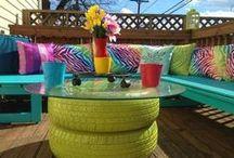 Outdoor Inspiration / Outdoor space, Outdoor Living, Outdoor Inspiration, Outdoor Furniture