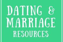 Dating & Marriage Resources / Dating and marriage advice, fun date ideas, communication tips, marriage blogs, Christian marriage perspectives, dating wisdom, relationship help websites, and encouraging dating & marriage quotes.