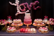 Adorable Dessert Buffet Tables / Some inspirational photos for lovely candy and dessert buffets for any occasion!