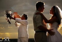 """Beach Weddings / If you're looking for a unique way to say """"I do,"""" consider having a destination wedding in an exotic locale surrounded by your closest friends and family members.  / by LocoGringo.com Riviera Maya Mexico"""