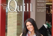 The Quill of Alpha Xi Delta / The official membership magazine of Alpha Xi Delta Fraternity.  / by Alpha Xi Delta