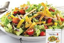 Simply Salads / If you think salads are boring, mix it up with some of our fresh #recipes!