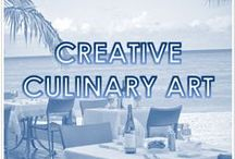 CREATIVE CULINARY ART / Under the direction of Executive Chef, Ricky Rivera, the Courtyard by Marriott Isla Verde Beach Resort offers the best local cuisine with a diverse blend of cultural influences. To create a complete dining experience, the resort's five restaurants each offer their own unique ambiance and style, making for a memorable culinary getaway.  / by Courtyard Isla Verde