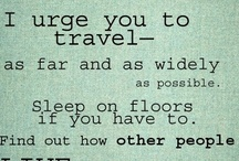 Travel / by Student Wellness