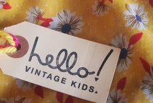 Hello! Vintage Kids