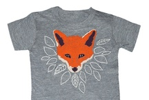"Fox Tees / My son's preschool class is the ""fox"" class.  I may be getting these as birthday gifts for the kids. Fox shirts, sweaters and tee shirts- for adults and kids."