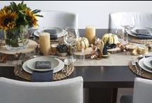 Modern Thanksgiving / Entertaining for Thanksgiving and Autumn Decor