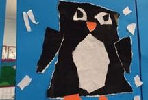 Penguin Classroom Ideas / Fun and educational penguin themed work for the K-3 classroom!