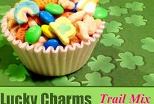 St. Patrick's Day / Are you feeling LUCKY? Check out all of these fun St. Patrick's Day recipes and crafts!