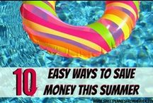Money Saving Ideas / Great ideas to help you save money! #thrifty #frugal