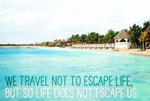 Bucket List Inspiration / The places and things that are on my Bucket List ~