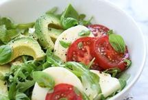Healthy Food Inspiration / Eating in a healthier way, options for better eating