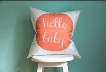 Gray, Coral and Mint Girl's Nursery / just comment and I'll edit