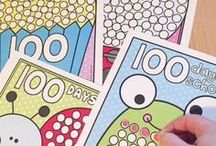 100 Days / Teaching ideas and classroom resources for 100 days - perfect for preschool, pre-kindergarten, kindergarten, first grade, second grade & third grade.