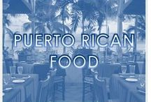 PUERTO RICAN FOOD / Puerto Rican food has its roots in the cooking traditions and practices of Europe (Spain), Africa and the native Taínos. During the 19th century, the cuisine of Puerto Rico was greatly influenced by the United States in the ingredients used in its preparation. Puerto Rican cuisine has transcended the boundaries of the island, and can be found in several countries outside the archipelago. / by Courtyard Isla Verde