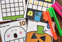 Autumn / Fall Classroom Ideas / Using autumn and fall as a theme for learning in preschool, pre-kindergarten, kindergarten, first grade, second grade & third grade. Includes activities, printables, games and crafts to make learning fun!