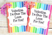 Kids - Valentine's for the Class / Cute and fun Valentine ideas for the class.  Many free printable Valentine ideas for kids! / by My Little Me